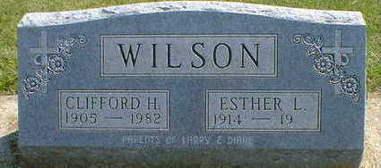 WILSON, CLIFFORD H. - Cerro Gordo County, Iowa | CLIFFORD H. WILSON