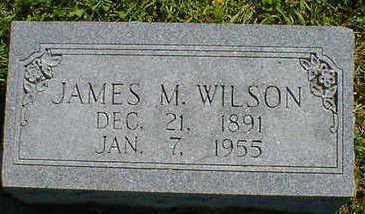WILSON, JAMES M. - Cerro Gordo County, Iowa   JAMES M. WILSON