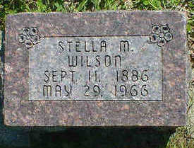 WILSON, STELLA M. - Cerro Gordo County, Iowa | STELLA M. WILSON