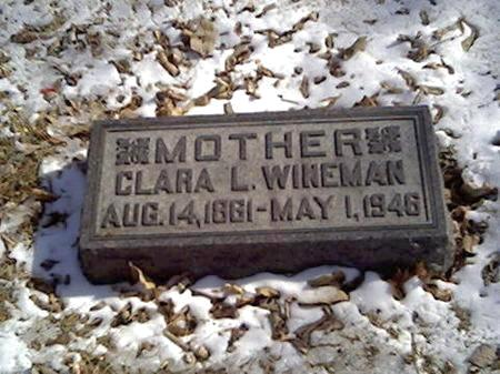 WINEMAN, CLARA - Cerro Gordo County, Iowa | CLARA WINEMAN