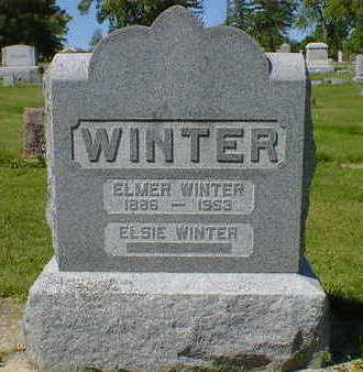 WINTER, ELMER - Cerro Gordo County, Iowa | ELMER WINTER