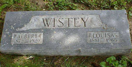 WISTEY, LOUISA - Cerro Gordo County, Iowa | LOUISA WISTEY