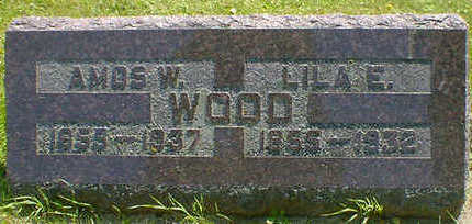 WOOD, AMOS W. - Cerro Gordo County, Iowa | AMOS W. WOOD