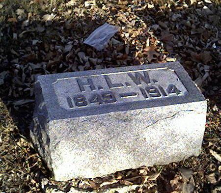 WOOD, H.L. - Cerro Gordo County, Iowa   H.L. WOOD