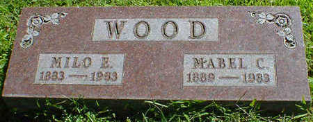 WOOD, MILO E. - Cerro Gordo County, Iowa | MILO E. WOOD