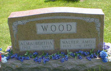 WOOD, ALMA BERTHA - Cerro Gordo County, Iowa | ALMA BERTHA WOOD