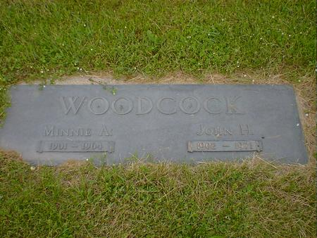 WOODCOCK, MINNIE A. - Cerro Gordo County, Iowa | MINNIE A. WOODCOCK