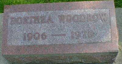 WOODROW, DORTHEA - Cerro Gordo County, Iowa | DORTHEA WOODROW