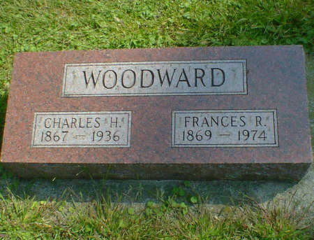 WOODWARD, FRANCES R. - Cerro Gordo County, Iowa | FRANCES R. WOODWARD