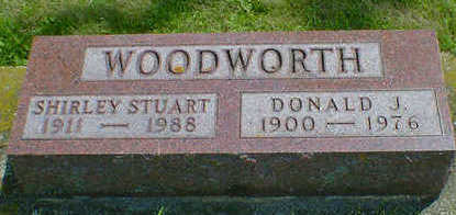 STUART WOODWORTH, SHIRLEY - Cerro Gordo County, Iowa | SHIRLEY STUART WOODWORTH