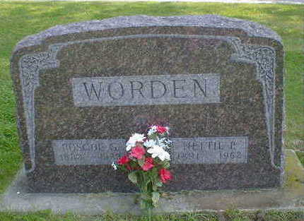 WORDEN, NETTIE PEARL (EUBAUGH) - Cerro Gordo County, Iowa | NETTIE PEARL (EUBAUGH) WORDEN