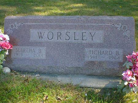 WORSLEY, RICHARD B. - Cerro Gordo County, Iowa | RICHARD B. WORSLEY