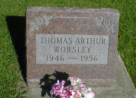 WORSLEY, THOMAS ARTHUR - Cerro Gordo County, Iowa | THOMAS ARTHUR WORSLEY