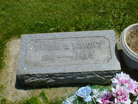 WRIGHT, VIRGIL L. - Cerro Gordo County, Iowa | VIRGIL L. WRIGHT