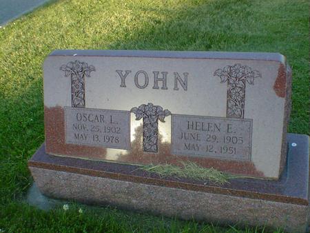 YOHN, OSCAR L. - Cerro Gordo County, Iowa | OSCAR L. YOHN