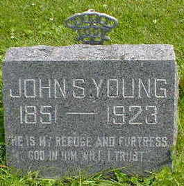 YOUNG, JOHN S. - Cerro Gordo County, Iowa | JOHN S. YOUNG