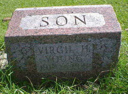 YOUNG, VIRGIL H. - Cerro Gordo County, Iowa | VIRGIL H. YOUNG