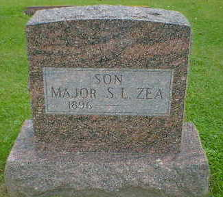 ZEA, MAJOR S.L. - Cerro Gordo County, Iowa | MAJOR S.L. ZEA