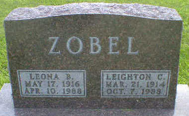 ZOBEL, LEONA B. - Cerro Gordo County, Iowa | LEONA B. ZOBEL