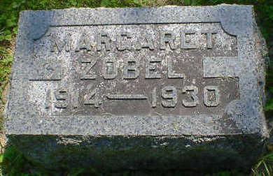 ZOBEL, MARGARET - Cerro Gordo County, Iowa   MARGARET ZOBEL