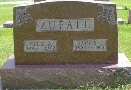ZUFALL, JACOB J. - Cerro Gordo County, Iowa   JACOB J. ZUFALL