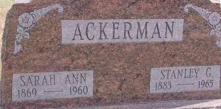 ACKERMAN, STANLEY & SARAH - Cherokee County, Iowa | STANLEY & SARAH ACKERMAN