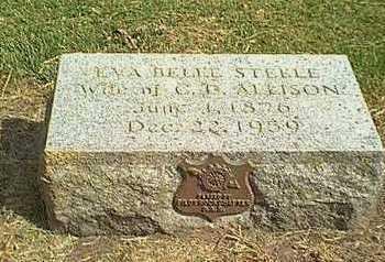 ALLISON, EVA BELLE - Cherokee County, Iowa | EVA BELLE ALLISON