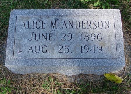 ANDERSON, ALICE M. - Cherokee County, Iowa | ALICE M. ANDERSON