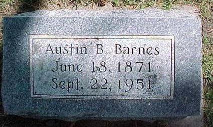 BARNES, AUSTIN B. - Cherokee County, Iowa | AUSTIN B. BARNES