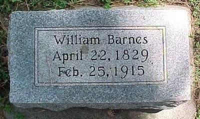 BARNES, WILLIAM - Cherokee County, Iowa | WILLIAM BARNES