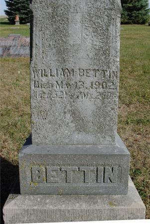 BETTIN, WILLIAM - Cherokee County, Iowa | WILLIAM BETTIN