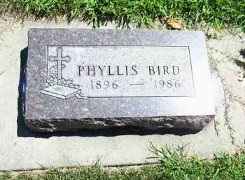 BIRD, PHYLLIS - Cherokee County, Iowa | PHYLLIS BIRD