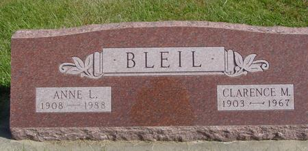 BLEIL, CLARENCE & ANNE - Cherokee County, Iowa | CLARENCE & ANNE BLEIL