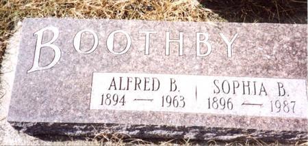 BOOTHBY, ALFRED B. & SOPHIA - Cherokee County, Iowa | ALFRED B. & SOPHIA BOOTHBY