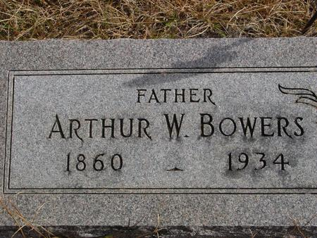 BOWERS, ARTHUR W. - Cherokee County, Iowa | ARTHUR W. BOWERS
