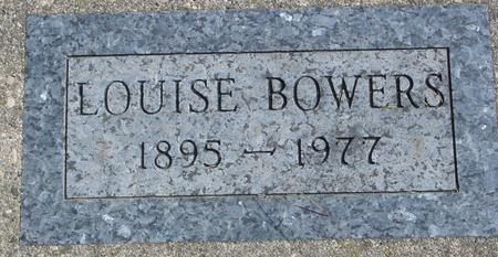 BOWERS, LOUISE - Cherokee County, Iowa | LOUISE BOWERS