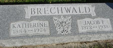 BRECHWALD, JACOB F. - Cherokee County, Iowa | JACOB F. BRECHWALD