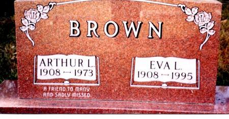 BROWN, ARTHUR L. & EVA L. - Cherokee County, Iowa | ARTHUR L. & EVA L. BROWN