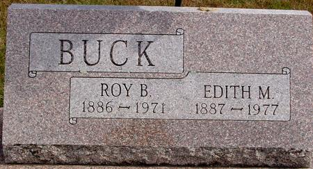 BUCK, ROY B. & EDITH M. - Cherokee County, Iowa | ROY B. & EDITH M. BUCK