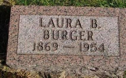 BURGER, LAURA B. - Cherokee County, Iowa | LAURA B. BURGER
