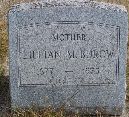BUROW, LILLIAN M. - Cherokee County, Iowa | LILLIAN M. BUROW