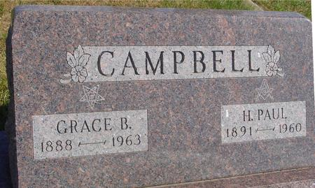 CAMPBELL, PAUL & GRACE B. - Cherokee County, Iowa | PAUL & GRACE B. CAMPBELL
