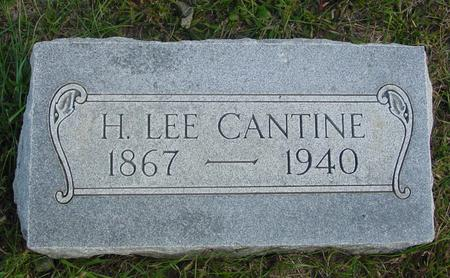 CANTINE, H. LEE - Cherokee County, Iowa | H. LEE CANTINE