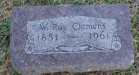 CLEMENS, W. RAY - Cherokee County, Iowa | W. RAY CLEMENS
