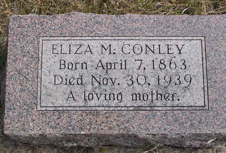CONLEY, ELIZA M. - Cherokee County, Iowa | ELIZA M. CONLEY