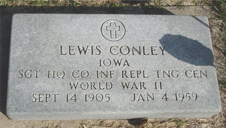 CONLEY, LEWIS - Cherokee County, Iowa | LEWIS CONLEY