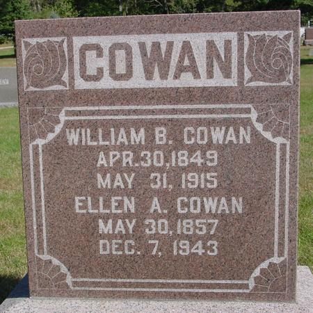 COWAN, WILLIAM & ELLEN - Cherokee County, Iowa | WILLIAM & ELLEN COWAN