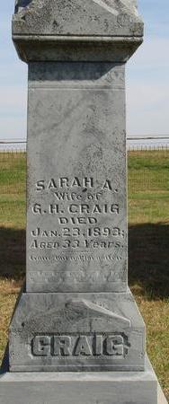 CRAIG, SARAH A. - Cherokee County, Iowa | SARAH A. CRAIG