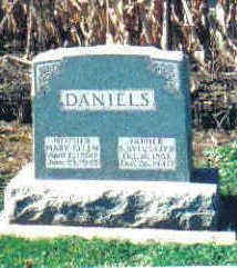 DANIELS, SULLIVAN SYLVESTER - Cherokee County, Iowa | SULLIVAN SYLVESTER DANIELS