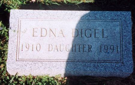 DIGEL, EDNA - Cherokee County, Iowa | EDNA DIGEL